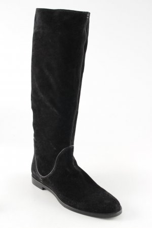 Sergio Rossi Stretch Boots black simple style