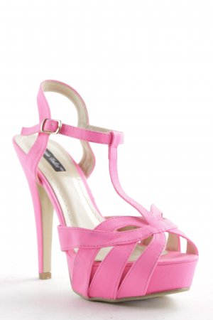 Sergio Todzi High Heel Sandaletten neonpink Party-Look