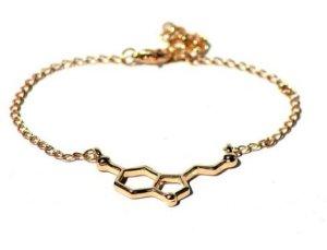 Serotonin Armkettchen Silber / Gold