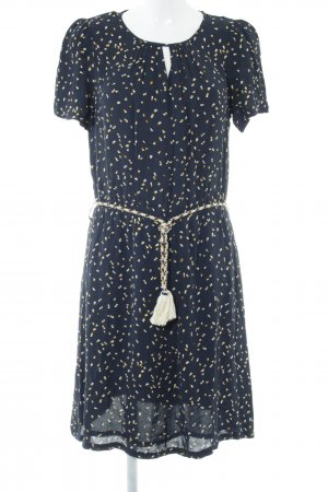 Sessun A-Linien Kleid abstraktes Muster Casual-Look