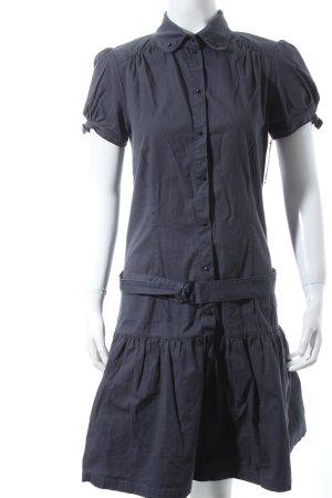 Sessun Robe trapèze bleu style mode des rues