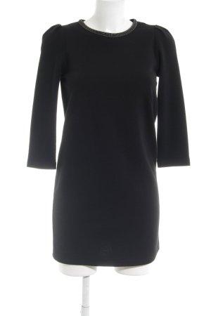 Sessun A-Linien Kleid schwarz Elegant