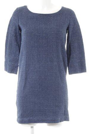 Sessun Abendkleid stahlblau-goldfarben Business-Look
