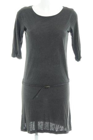 Sessun Jerseykleid anthrazit schlichter Stil