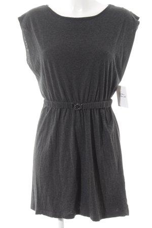 Sessun Jerseykleid dunkelgrau meliert Street-Fashion-Look