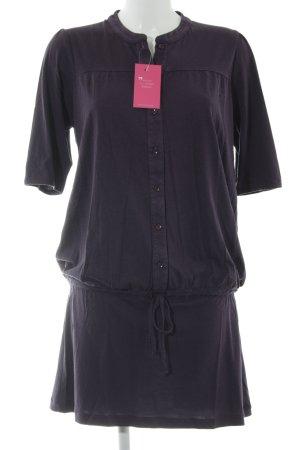 Sessun Jerseykleid dunkelviolett Casual-Look