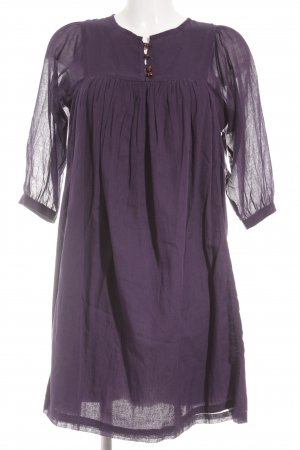 Sessun Jerseykleid dunkelviolett schlichter Stil