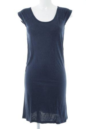 Sessun Vestido de manga corta azul oscuro look casual