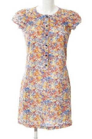 Sessun Vestido de manga corta estampado floral look casual