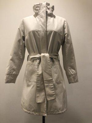 Sessun Cappotto corto beige chiaro Cotone
