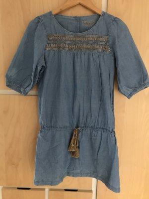 Sessun leichtes Jeans Kleid Gr. L