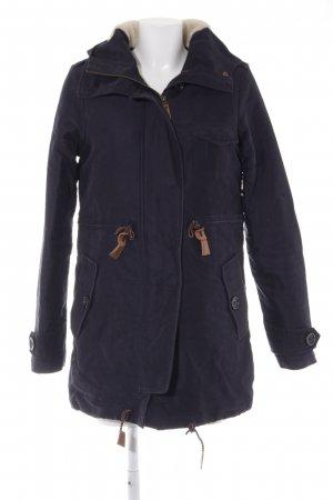 Sessun Parka donkerblauw-room casual uitstraling
