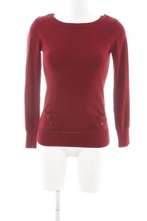 Sessun Strickpullover rot Casual-Look