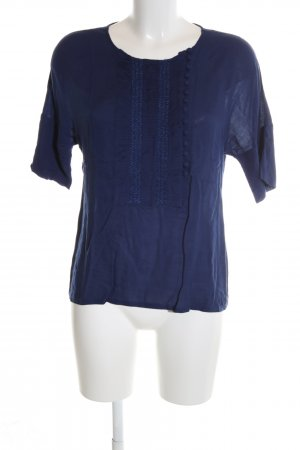 Sessun T-Shirt blau Casual-Look