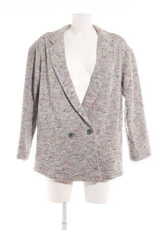 Sessun Tweed blazer gestippeld extravagante stijl