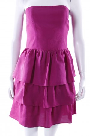 Sessun flounce dress purple