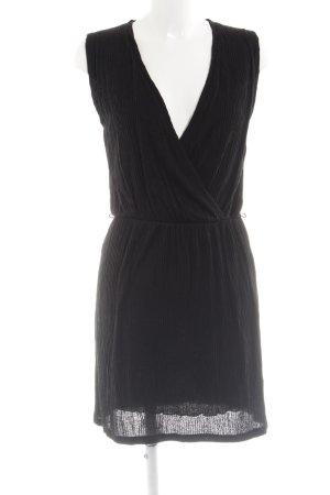 Sessun Jerseykleid schwarz Elegant