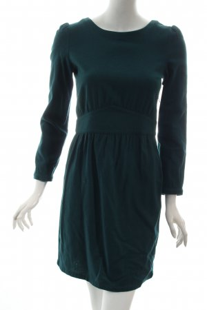 Sessun Wollkleid dunkelgrün schlichter Stil