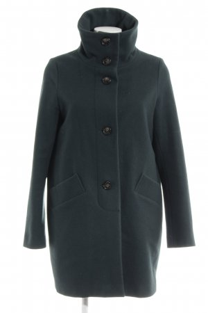Sessun Abrigo de lana verde oscuro estilo «business»