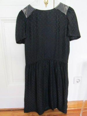 Sessun Cut out jurk veelkleurig Zijde