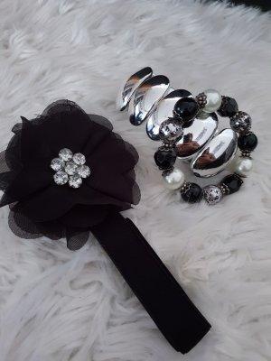 Set 2 Armbänder + 1 Kopfgummi