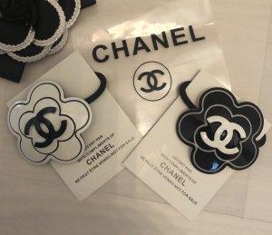 Chanel Pinza para el pelo negro-blanco