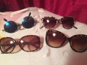 Set - 4 Sonnenbrillen !