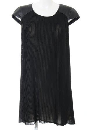 Set A-Linien Kleid schwarz Elegant