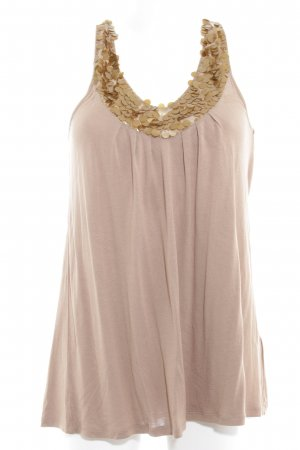 Set A-Linien Top beige Party-Look
