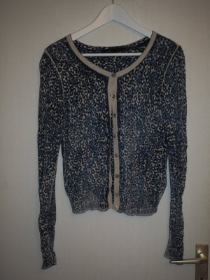 Set Animalprint Cardigan