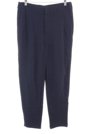 Set Pantalon de costume bleu foncé style d'affaires