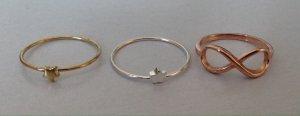 Set aus 3 Ringen