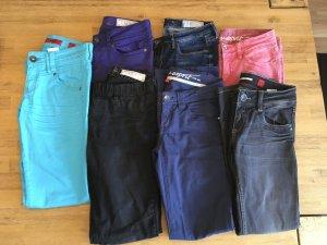 Set aus 7 Jeans der Marken s.Oliver und Esprit