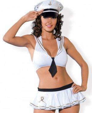 Set - Bikini im Marine-Look gr.S/M von Obsessive