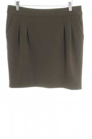 Set Pencil Skirt olive green business style
