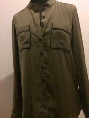 SET Bluse Gr. 34 Olive 1 x getragen