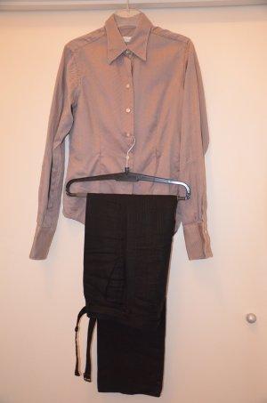 Set, bluse +Hose mit Leinen, Gr. 34-36