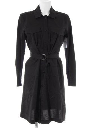 Set Blusenkleid schwarz minimalistischer Stil
