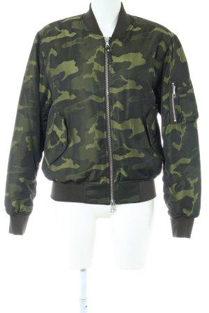 Set Bomberjacke Camouflagemuster Casual-Look