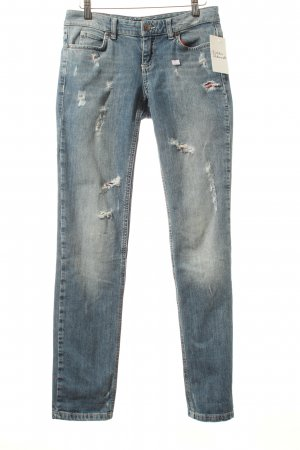 Set Boyfriendjeans blau Casual-Look