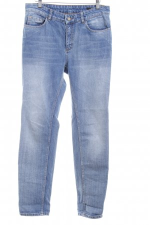 Set Boyfriend Jeans steel blue boyfriend style