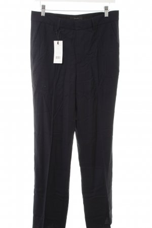 Set Bundfaltenhose dunkelblau Business-Look