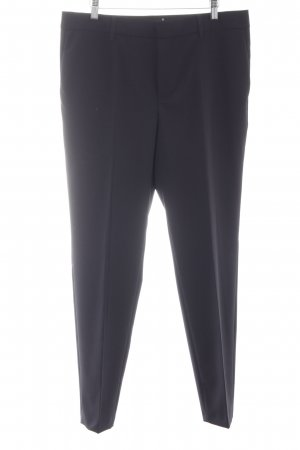 Set Bundfaltenhose schwarz Business-Look