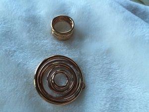 Set Calvin Klein Ring und kettenanhänger