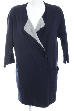 Set Cardigan dunkelblau schlichter Stil