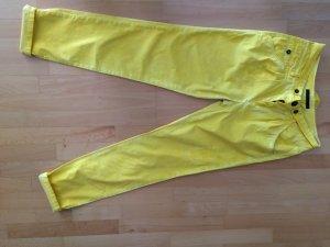 Set coole Jeans in gelb Größe 36