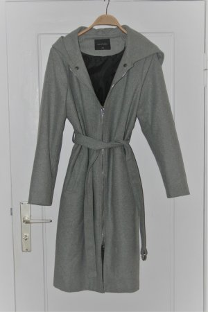 Top Secret Hooded Coat grey-black
