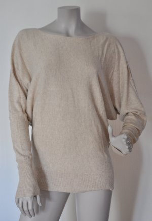 SET Essentials / SET Fashion Pullover mit Kaschmir-Anteil beige Gr. 40