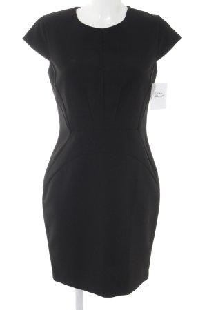 Set Etuikleid schwarz Elegant