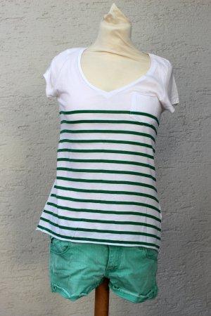 SET Grüne Shorts + Top Zara